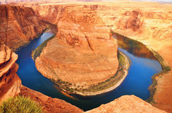 Horseshoe Bend Landscape Royalty Free Stock Images