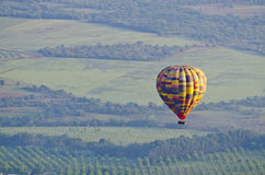Scenic view of hot air balloon Stock Photography