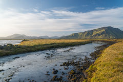 Scenic view of Iceland landscape. Royalty Free Stock Images
