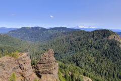 Scenic view from Iron Mountain, Oregon Royalty Free Stock Photos