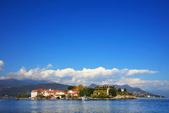 Scenic view of the Isola Bella, Lago Maggiore, Italy, Europe Royalty Free Stock Images