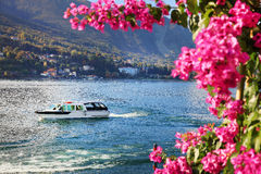 Scenic view of Isola Bella on Lake Maggiore, Italy, Europe Royalty Free Stock Image