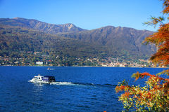 Scenic view of Isola Madre on the Lago Maggiore, Northern Italy, Europe Royalty Free Stock Photography