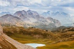 Scenic view of Italian Dolomites mountains Stock Photo