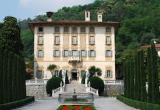 Scenic View of Italian villa Royalty Free Stock Photography
