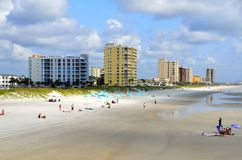 Jacksonville Beach in Florida. Scenic view of Jacksonville Beach in Florida, USA Stock Photos