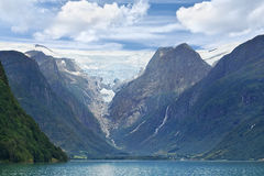Jostedal glacier, Olden - Norway - Scandinavia Royalty Free Stock Photography