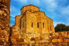 Scenic view of Jvari Monastery in Mtskheta, Georgia Stock Images