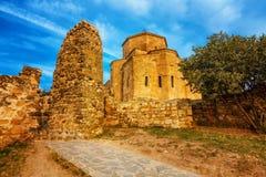 Scenic view of Jvari Monastery in Mtskheta, Georgia Stock Photo