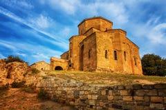 Scenic view of Jvari Monastery in Mtskheta, Georgia Royalty Free Stock Photography