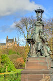 Scenic view of Kelvingrove Park - Glasgow, Scotland Stock Photo