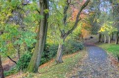 Scenic view of Kelvingrove Park - Glasgow, Scotland Stock Images