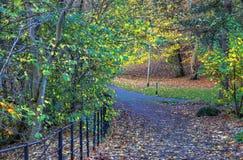 Scenic view of Kelvingrove Park - Glasgow, Scotland Royalty Free Stock Photography