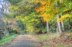 Scenic view of Kelvingrove Park - Glasgow, Scotland Stock Photography