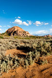 Scenic view at kolob plateau in zion national park Stock Image
