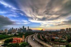 Kuala Lumpur cityscape Stock Image