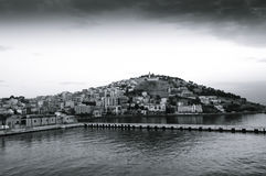Scenic view of Kusadasi city Royalty Free Stock Image