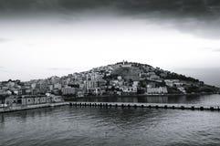 Scenic view of Kusadasi city Royalty Free Stock Image