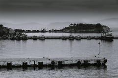 Scenic view of Kusadasi port Royalty Free Stock Image