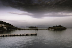 Scenic view of Kusadasi port Royalty Free Stock Photography