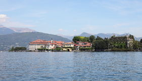 Scenic view of Lake Maggiore near Milan Stock Photos
