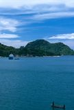 A scenic view of Lake Malawi. Royalty Free Stock Images