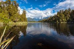 Scenic View of Lake Matheson Royalty Free Stock Photo