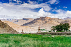 Scenic view from Leh to  Pangong Lake Stock Photography