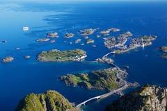 Scenic view on Lofoten Stock Photo