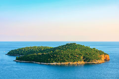 Scenic view of Lokrum island Royalty Free Stock Image