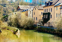 Scenic view of the Luxembourg City Stock Photos