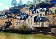 Scenic view of the Luxembourg City Stock Image