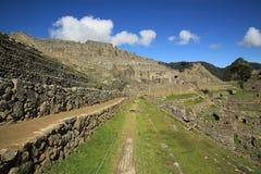 Scenic view in Macchu Picchu, Peru, South America Stock Images