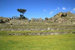 Scenic view in Macchu Picchu, Peru, South America Royalty Free Stock Image