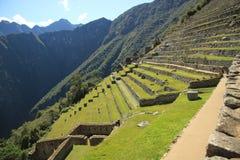 Scenic view in Macchu Picchu, Peru, South America Stock Photography