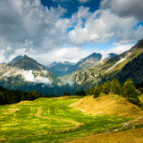 Scenic view at maloja Royalty Free Stock Image