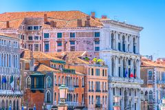 Architecture in Italy, Venice city. stock images