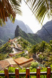 Scenic view of Masca, Tenerife, Canary Islands, Spain Royalty Free Stock Photography