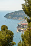 Scenic view of the Mediterranean coastline Stock Photo