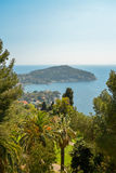 Scenic view of the Mediterranean coastline Stock Images