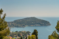 Scenic view of the Mediterranean coastline Royalty Free Stock Photo