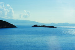 Scenic view of Mediterranean sea in Turkey Royalty Free Stock Image