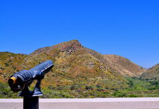 A Scenic View at Mission Trails. Mt. Fortuna at Mission Trails Regional Park, San Diego Stock Images