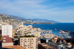 Scenic view from Monaco Village Royalty Free Stock Photography