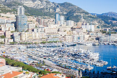 Scenic view from Monaco Village Royalty Free Stock Image