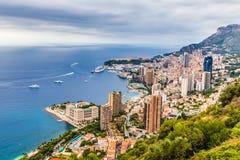 Scenic View Of Monte Carlo-Monte Carlo,Monaco Royalty Free Stock Photography