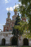 Scenic view of the Moscow Novodevichy Convent Stock Images