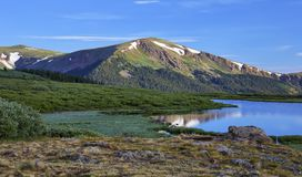 View from Guanella Pass, Colorado stock images