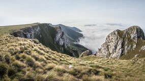 Scenic View of the Mountain royalty free stock image