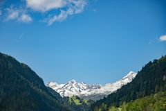 Scenic View of the Mountain royalty free stock photo